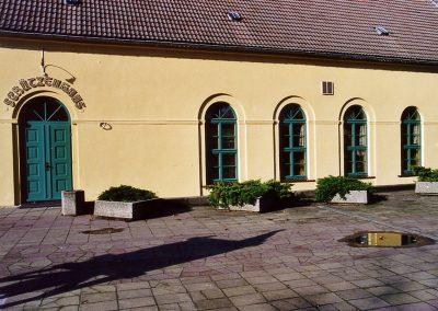 Fenster im Schützenhaus Beeskow