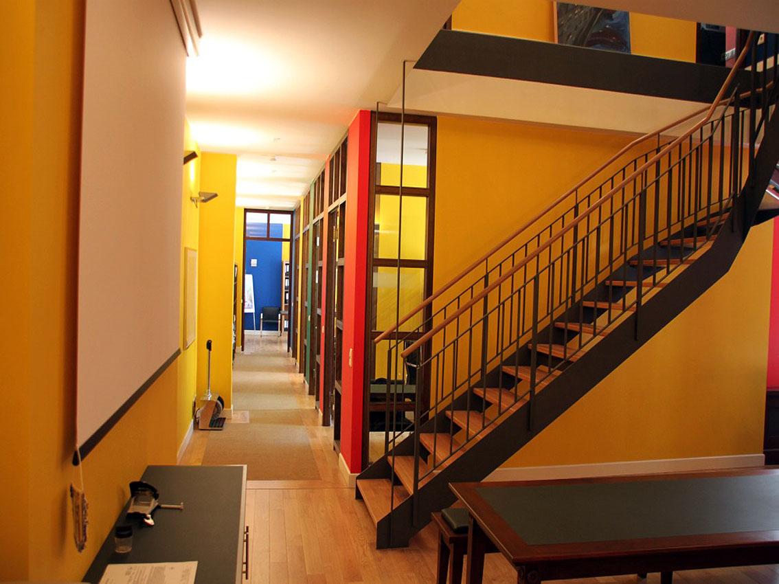 Trennwandsystem für Büros