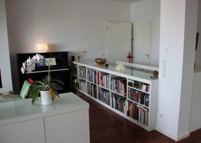 Schränke und Regale in Weißlack für Wohnraum